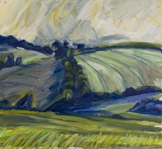 Nick Schlee - Bright sky and green fields