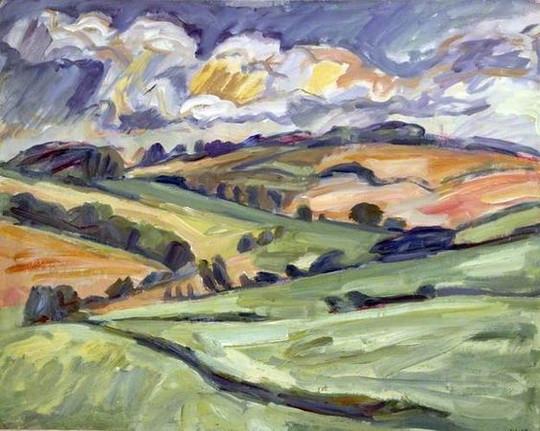 Nick Schlee - Distant Fields near East Ilsley
