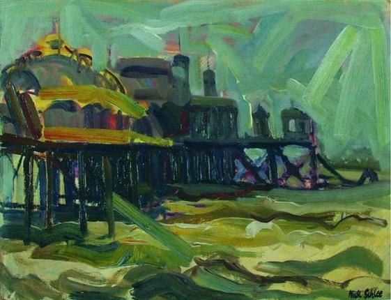 Nick Schlee - Pier and Ballroom Choppy Sea