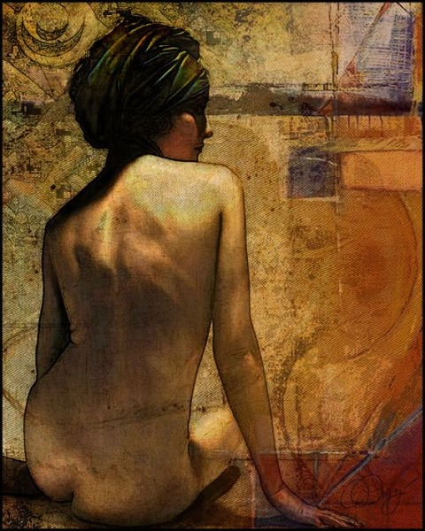 David Meyer - Sitting Woman