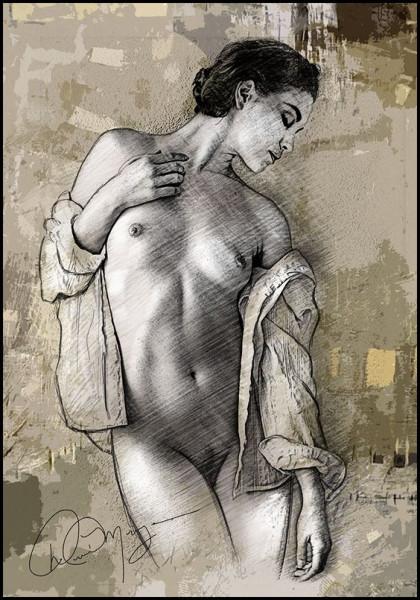 David Meyer - Standing Woman No.2