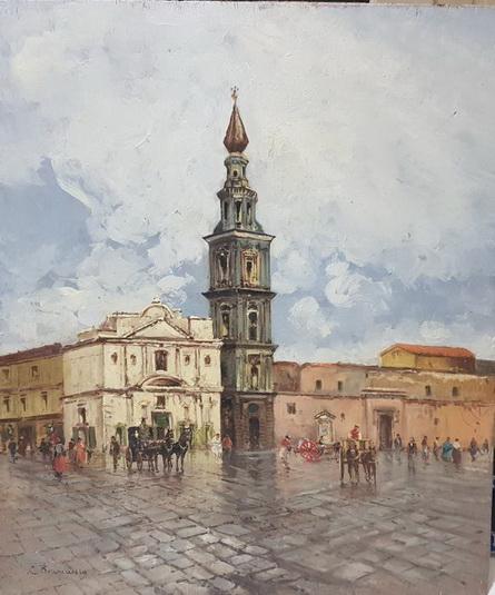 Carlo Brancaccio - Piazza Mercato, Napoli
