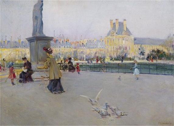 Carlo Brancaccio - Tuileries gardens, Paris