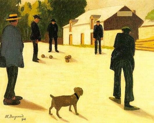 Marius Borgeaud - Les joueurs de boules