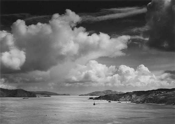 Ansel Adams Golden Gate before the Bridge