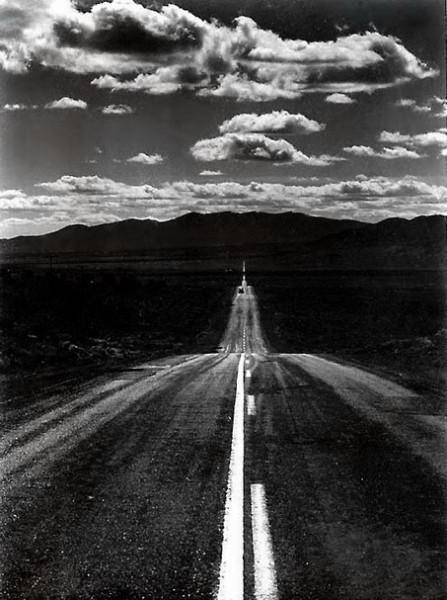 Ansel Adams - Road, Nevada Desert