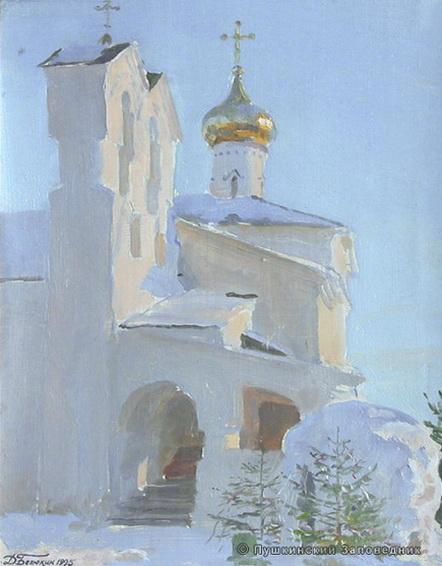 Белюкин Дм - Никольский монастырь