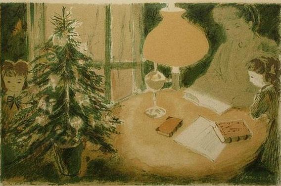 Emilio Grau Sala - Christmas Tree