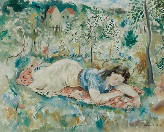 Emilio Grau Sala - Asleep in the Grass