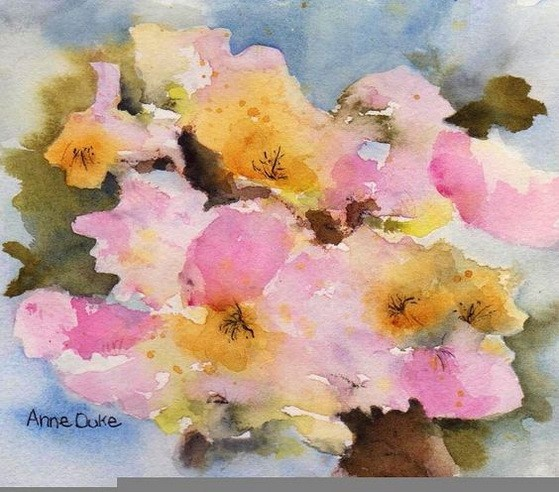 anne duke - Orchard Blossom