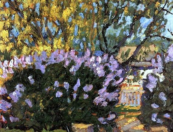 Arthur Lismer - Lilac Time