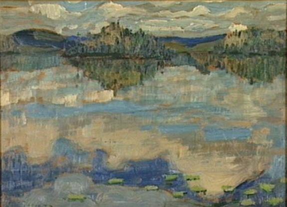 Arthur Lismer - Reflections Algoma