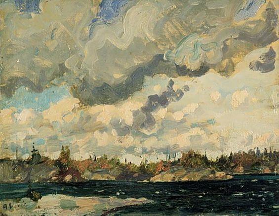 Arthur Lismer - Stormy Sky