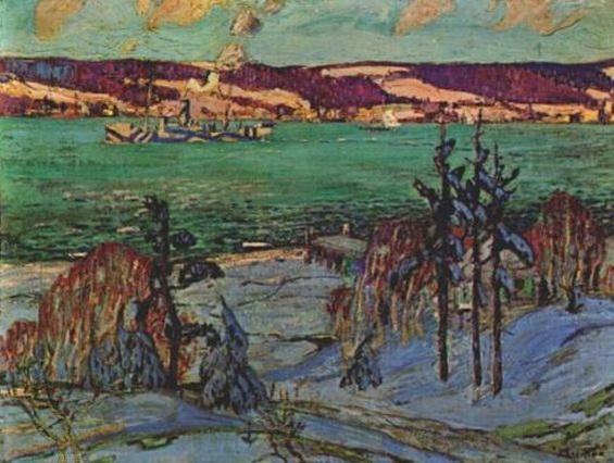 Arthur Lismer - Winter Camouflage