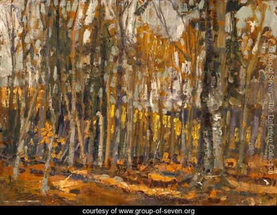 Arthur Lismer - Wood Interior