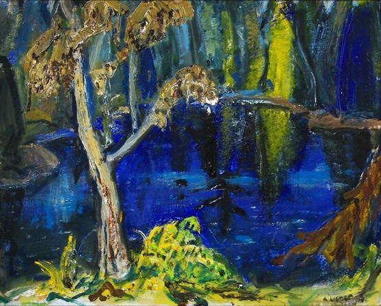 Arthur Lismer - GEORGIAN BAY POOL