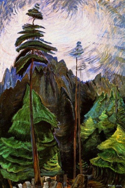 Emily Carr -  Mountain Forest