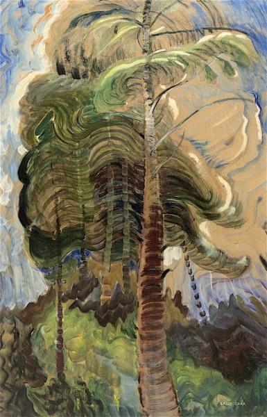 Emily Carr -  Forest Interior