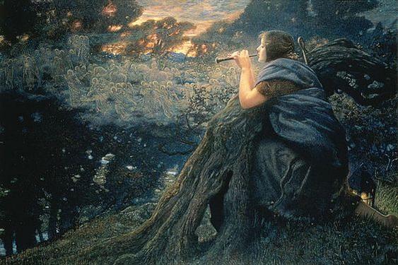 Edward Robert Hughes -  Twilight Fantasies