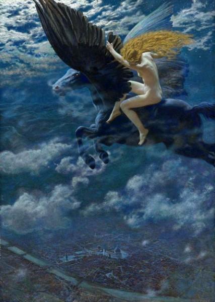 Edward Robert Hughes - Dream Idyll