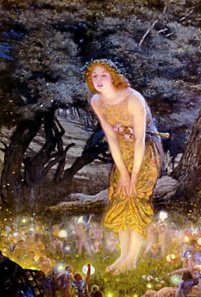 Edward Robert Hughes - Midsummer Eve
