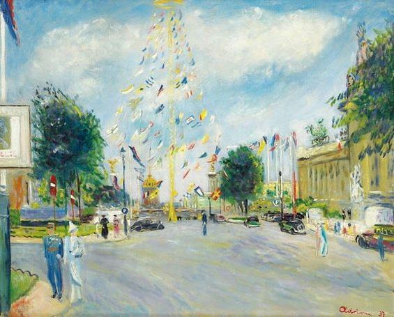 Lucien Adrion - International Exposition of 1937, Paris