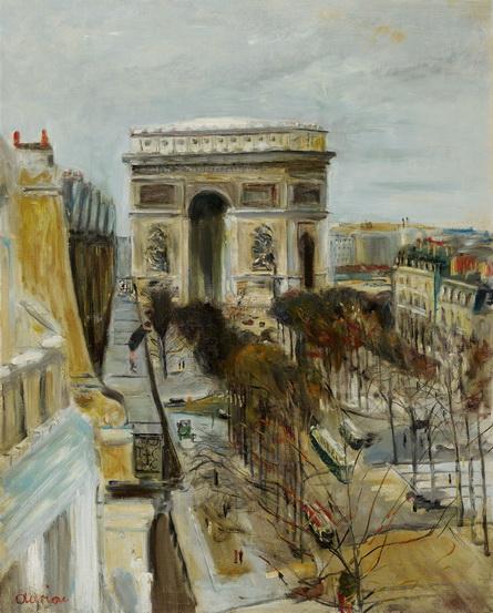 Lucien Adrion - Arc de Triomphe