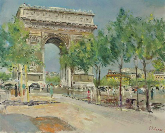 Lucien Adrion - Arc de Triomphe 2