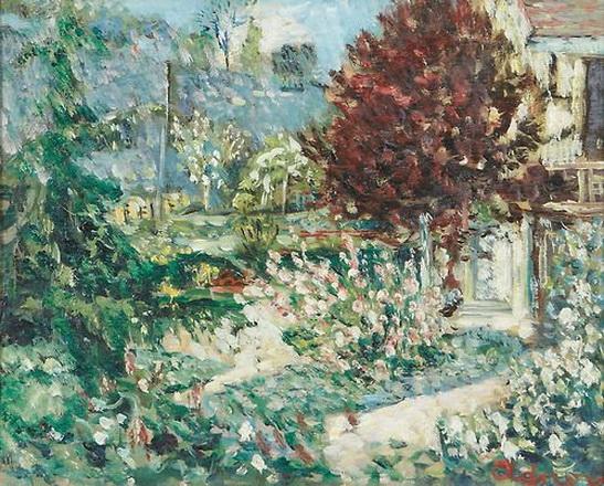 Lucien Adrion - Jardin.