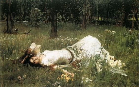 John William Waterhouse - Ophelie