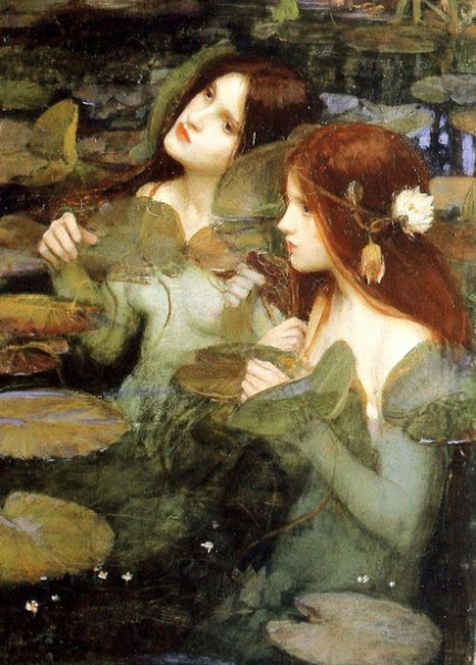 John William Waterhouse - Hylas and the Nymphs