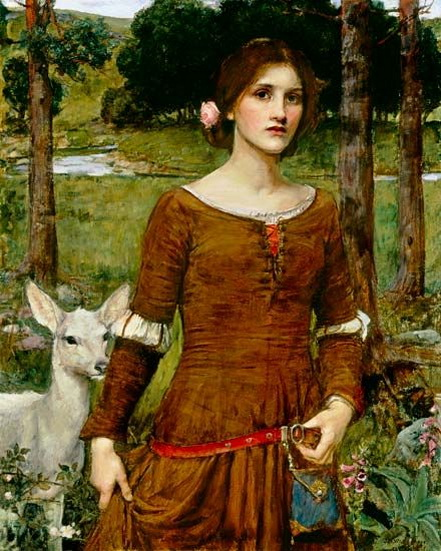 John William Waterhouse - Lady Clare
