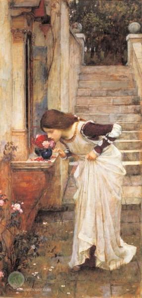 John William Waterhouse - The Shrine
