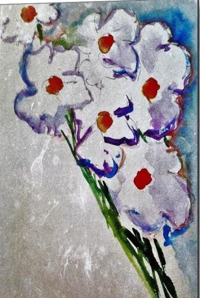 Britta Zehm - White Flowers