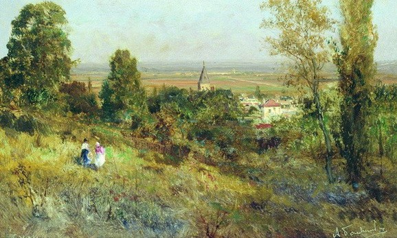 bogolyubov alexey - in the outskirts of paris ekuan