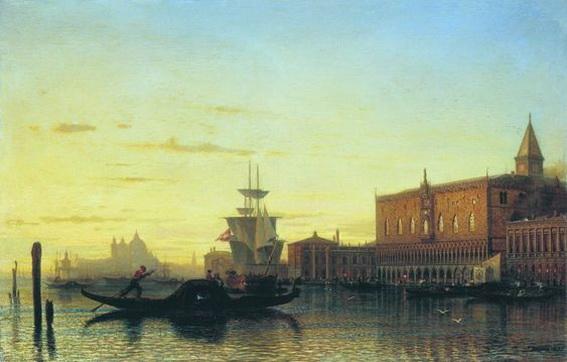 bogolyubov alexey -  Венеция Дворец дожей