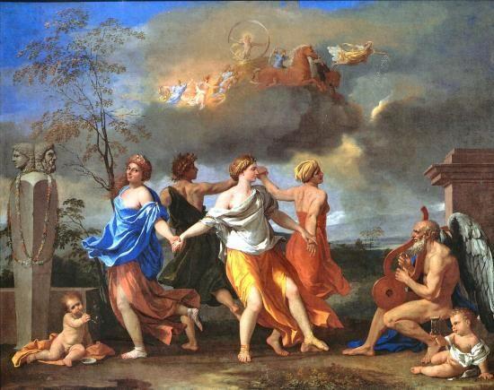 Nicolas Poussin -  La danse de la vie humaine