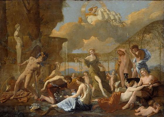 Nicolas Poussin -  L'Empire de Flore