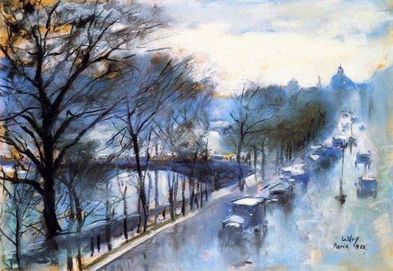 Lesser Ury - Paris, Rainy Day