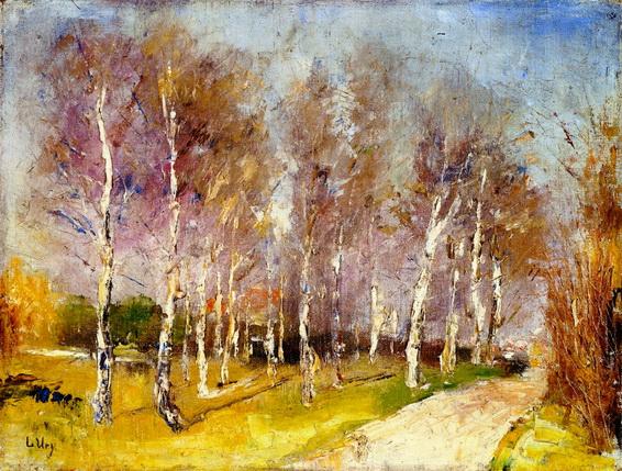 Lesser Ury - Herbstlandschaft