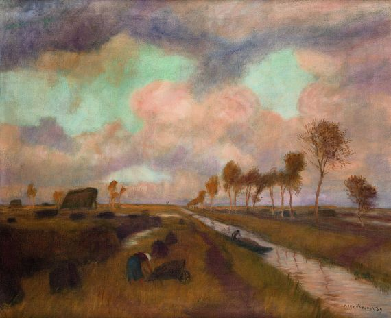 Otto Modersohn - Moorlandschaft