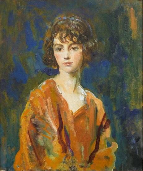 Ambrose McEvoy - Portrait of the Hon. Lois