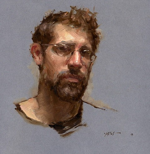Travis Schlaht - Selfportrait