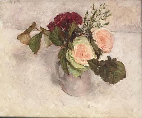 Travis Schlaht - Bouquet in white