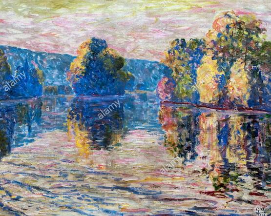 Georgette Agutte - View Bonnieres