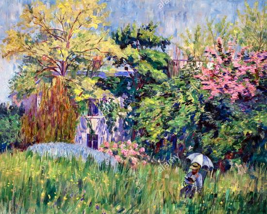 Georgette Agutte - The garden Bonnieres