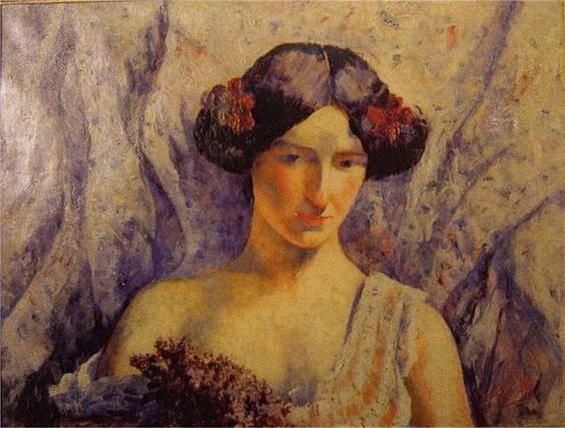 Georgette Agutte - Portrait de Femme