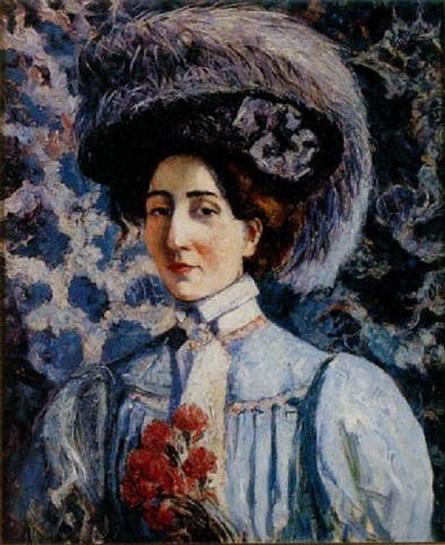 Georgette Agutte - Autoportrait