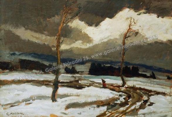 Gustav Macoun - Winter Landscape 3