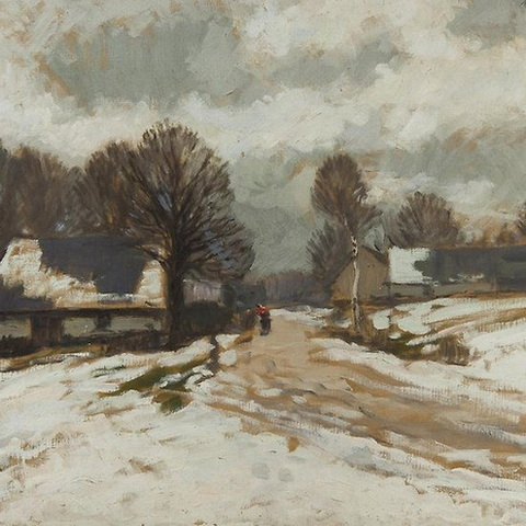 Gustav Macoun - Winter Landscape 2